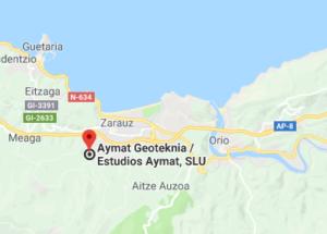estudios geotecnicos Aymat maps