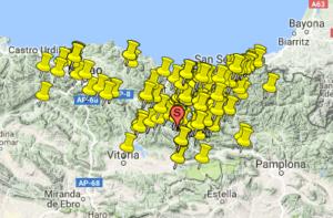 proyectos geologicos Aymat maps